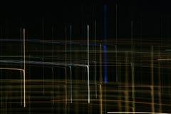Zeilen auf dem dunklen Hintergrund Stockfoto