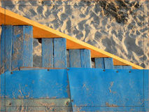 Zeilen im Sand Lizenzfreie Stockfotografie