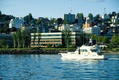 Zeilen in Seattle stock foto
