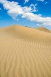 Zeilen und Sand Stockfotografie