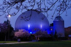 Zeiss planetarium in berlin Royalty Free Stock Photography