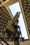 Zeiss teleskop på Griffith Observatory Arkivbilder