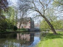 Zeist αυλακώσεων φέουδων στις Κάτω Χώρες κοντά στην Ουτρέχτη Στοκ Φωτογραφία