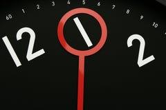 Zeit 1 Uhr Lizenzfreie Stockbilder