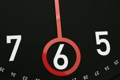 Zeit 6 Uhr stockbilder