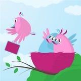 Zeit, das Nest zu lassen Lizenzfreie Stockbilder