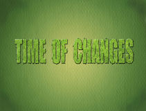 Zeit der Änderungen Lizenzfreies Stockfoto