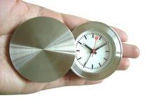 Zeit in der Hand Lizenzfreie Stockfotos
