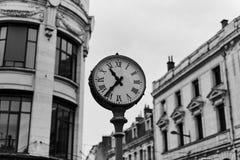 Zeit in der Stadt stockbild