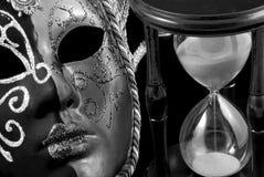 Zeit in der Verkleidung Stockfoto
