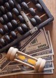 Zeit des Geldes. Stockbilder