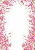 Zeit des Pfirsich- oder Kirschblüte Hintergrundes im Frühjahr stock abbildung