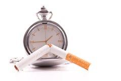 Zeit, die Gewohnheit zu brechen Stockbild