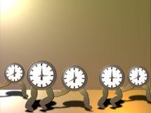Zeit, die heraus läuft Stockfoto