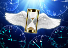 Zeit, die Konzept verstreicht Lizenzfreies Stockfoto