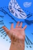 Zeit, die Konzepte verstreicht Lizenzfreie Stockfotos