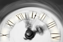 Zeit, die weg läuft oder verstreicht Stockfoto