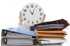 Zeit-Druck Lizenzfreie Stockfotografie