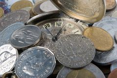 Zeit - ein Geld Stockbilder