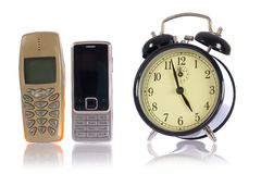 Zeit für Aufsteigen, endloses Gespräch lizenzfreies stockbild