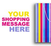 Zeit für das Einkaufen! Lizenzfreie Stockfotografie