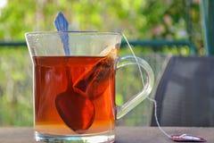 Zeit für den Tee Stockfotografie
