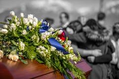 Zeit für die Trauer Lizenzfreies Stockfoto