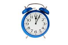 Zeit für Entscheidung. fünf Minuten zum Mitternacht Lizenzfreies Stockfoto