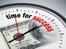 Zeit für Erfolg Stockfotografie