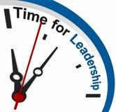 Zeit für Führung stock abbildung