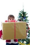 Zeit für große Geschenke Stockfotos