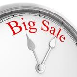 Zeit für großen Verkauf Stockbild