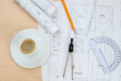 Zeit für Kaffee lizenzfreie stockfotografie