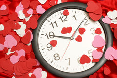 Zeit für Liebe Stockfoto