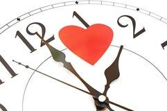 Zeit für Liebe Stockbild