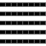 Zeit für nahtloses Muster der Filme Vektor Abbildung