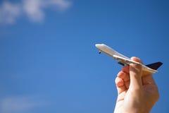 Zeit für Reise auf dem Luftweg Lizenzfreie Stockbilder