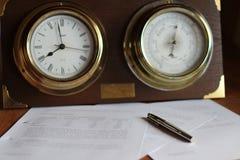 Zeit für Studie Stockbild