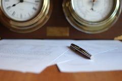 Zeit für Studie Lizenzfreies Stockbild