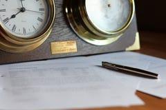 Zeit für Studie Lizenzfreie Stockfotos