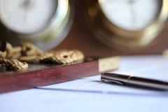 Zeit für Studie Lizenzfreie Stockbilder