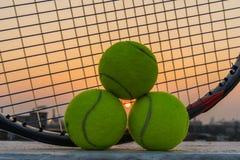 Zeit für Tennis Stockfotografie