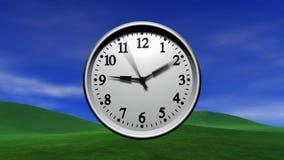 Zeit fliegt vektor abbildung