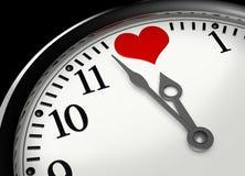Zeit für Liebe Stockfotos