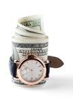 Zeit - Geld Stockfoto