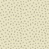 Zeit-Hand gezeichneter nahtloser Muster-Hintergrund Lizenzfreies Stockfoto