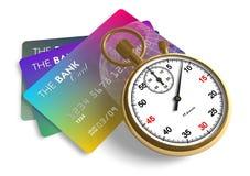Zeit ist Geld Stockbilder