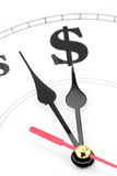 Zeit ist Geld Lizenzfreies Stockbild