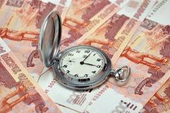 Zeit ist Geld. Lizenzfreies Stockfoto