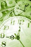 Zeit ist Geld Stockbild